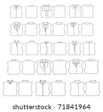 clothes | Shutterstock . vector #71841964