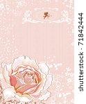 pink rose | Shutterstock .eps vector #71842444