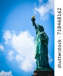 Liberty Statue Of America And A ...