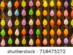 Colorful Balloon Wall For Shot...