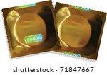 condoms | Shutterstock .eps vector #71847667