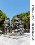 canakkale martyrs' memorial is...   Shutterstock . vector #718479016