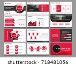 red business presentation...