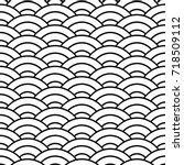 japanese seamless pattern....   Shutterstock .eps vector #718509112