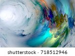 the colors in the series  fancy ... | Shutterstock . vector #718512946