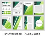 abstract vector layout... | Shutterstock .eps vector #718521055