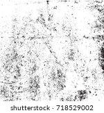 grunge texture background... | Shutterstock .eps vector #718529002