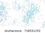 light blue vector modern... | Shutterstock .eps vector #718531192
