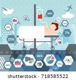 patient care | Shutterstock .eps vector #718585522