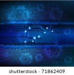 abstract technology theme... | Shutterstock .eps vector #71862409