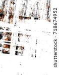 dark brown grunge background.... | Shutterstock . vector #718674952
