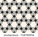vector geometric seamless... | Shutterstock .eps vector #718700956