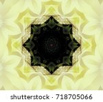 abstract illustration yellow... | Shutterstock . vector #718705066