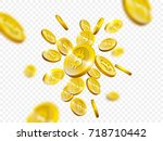 bitcoin cryptocurrency of... | Shutterstock .eps vector #718710442