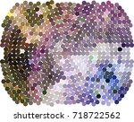 abstract background. spotted... | Shutterstock .eps vector #718722562