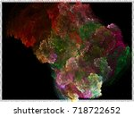abstract background. spotted... | Shutterstock .eps vector #718722652