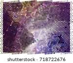 abstract background. spotted... | Shutterstock .eps vector #718722676