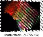 abstract background. spotted... | Shutterstock .eps vector #718722712