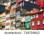 porto  portugal   september 5 ... | Shutterstock . vector #718724812