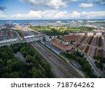 copenhagen cityscape  denmark.   Shutterstock . vector #718764262