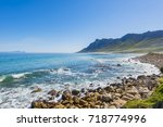 cape town  clarence drive  ... | Shutterstock . vector #718774996