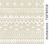 seamless geometric pattern.... | Shutterstock .eps vector #718784518