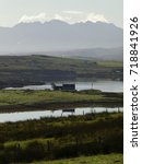 View Towards The Cuillin...