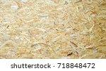 plywood osb texture | Shutterstock . vector #718848472
