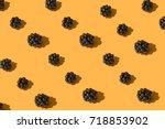 food pattern | Shutterstock . vector #718853902