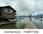 seward  alaska   august 29 ... | Shutterstock . vector #718857346