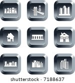 architecture buttons | Shutterstock .eps vector #7188637