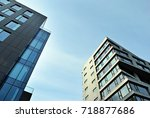 modern  luxury apartment... | Shutterstock . vector #718877686
