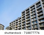 modern  luxury apartment... | Shutterstock . vector #718877776