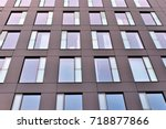 modern office building | Shutterstock . vector #718877866