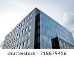 modern office building | Shutterstock . vector #718879456