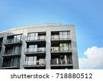 modern  luxury apartment... | Shutterstock . vector #718880512