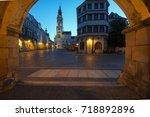 townhall goerlitz untermarkt... | Shutterstock . vector #718892896