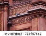 beautiful building  | Shutterstock . vector #718907662