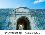 jaffna fort. jaffna fort that... | Shutterstock . vector #718934272