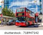 london  uk   july 16  2016  ... | Shutterstock . vector #718947142