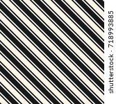 diagonal stripes seamless... | Shutterstock .eps vector #718993885