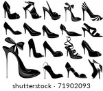 shoes | Shutterstock .eps vector #71902093