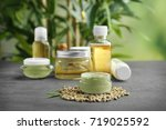 Hemp Cosmetic Products And...