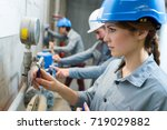 the plumbing and boiler course | Shutterstock . vector #719029882