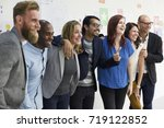 startup business people... | Shutterstock . vector #719122852