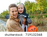 Trick Or Treat. Portrait Of...