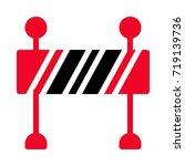 boundary icon | Shutterstock .eps vector #719139736