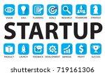 vector illustration. business... | Shutterstock .eps vector #719161306