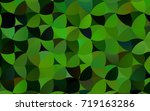 light green vector pattern with ...