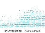 light blue vector abstract... | Shutterstock .eps vector #719163436